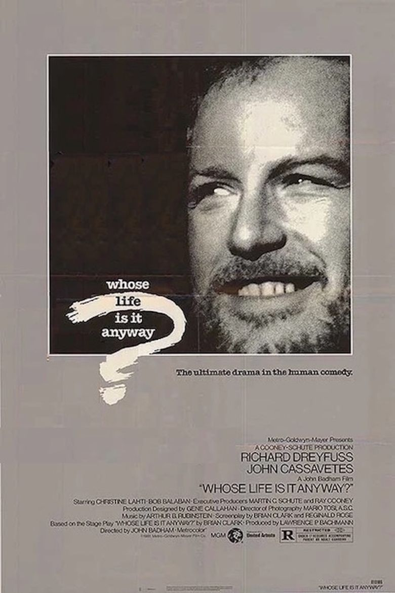 Whose Life Is It Anyway? Poster