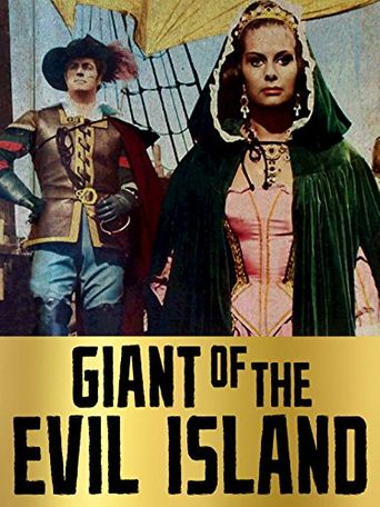 Giant of the Evil Island Poster