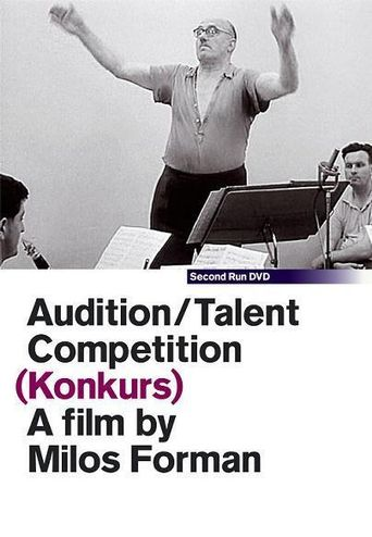 Audition/Talent Competition Poster