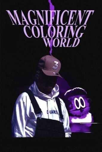 Chance the Rapper's Magnificent Coloring World Poster