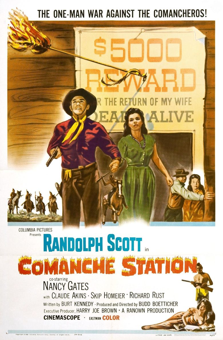 Comanche Station Poster