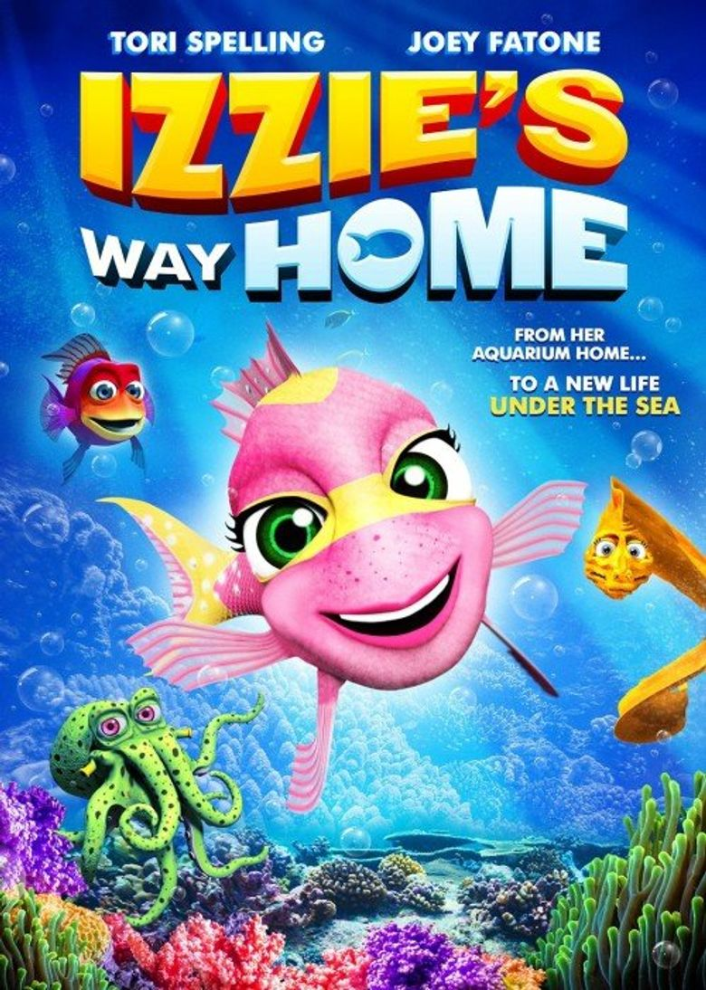 Izzie's Way Home Poster
