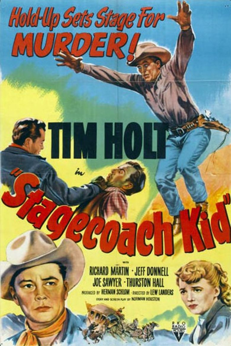 Stagecoach Kid Poster