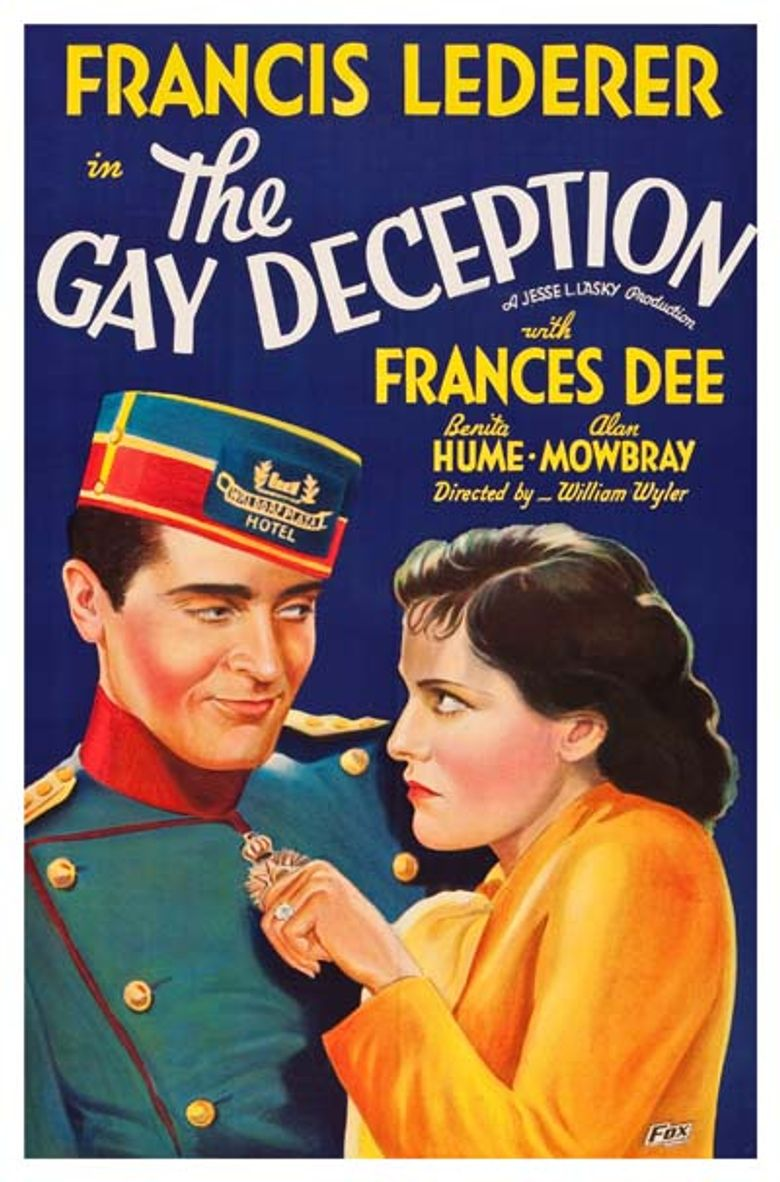 The Gay Deception Poster