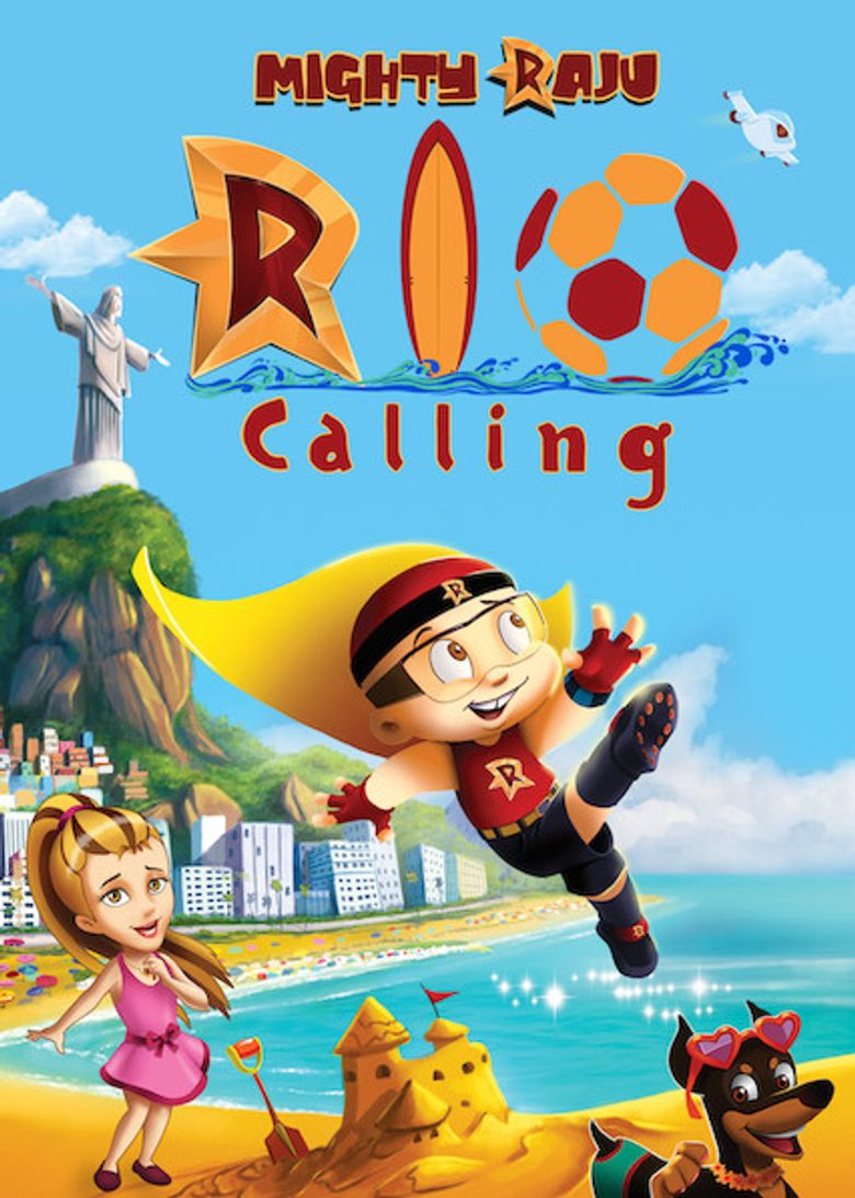 Mighty Raju Rio Calling Poster