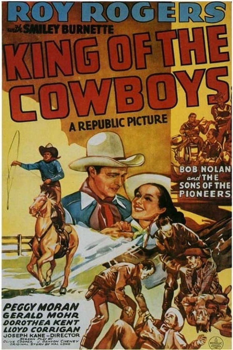 King of the Cowboys Poster