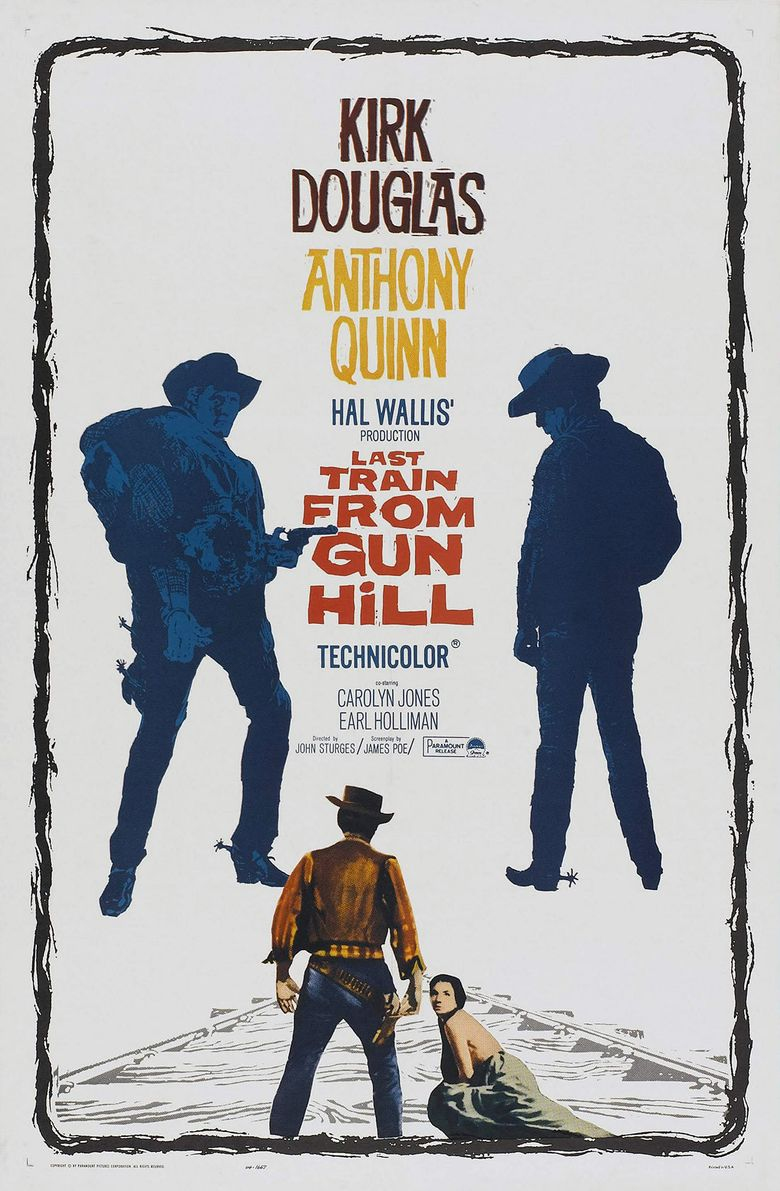 Last Train from Gun Hill Poster