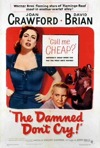 The Damned Don't Cry Poster