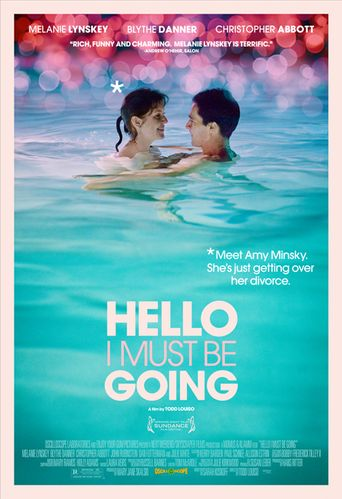 Hello I Must Be Going Poster