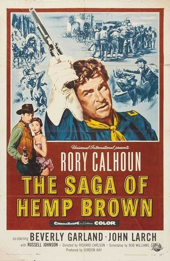 The Saga of Hemp Brown Poster