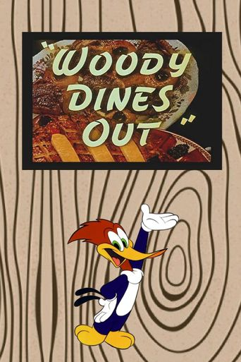 Woody Dines Out Poster
