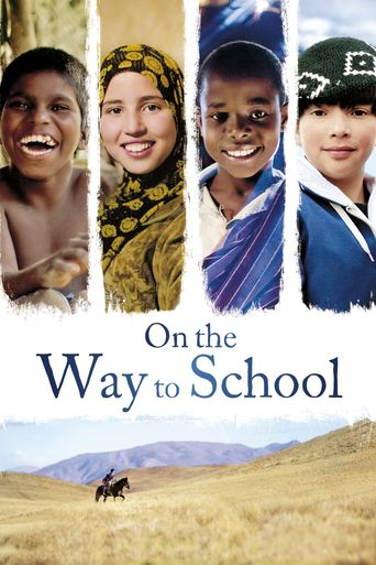 On the Way to School Poster