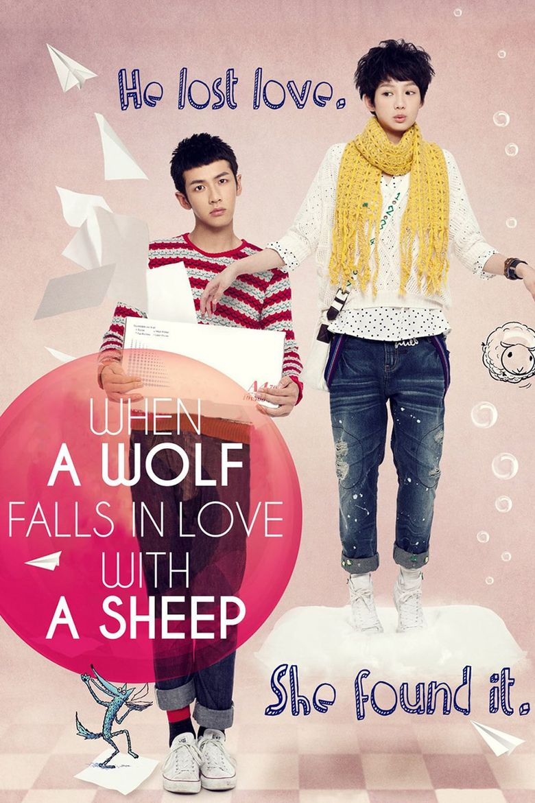 When a Wolf Falls in Love with a Sheep Poster
