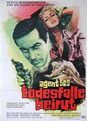 Agent 505 - Death Trap Beirut Poster