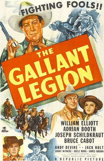 The Gallant Legion Poster