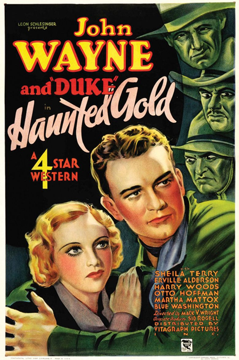 Haunted Gold Poster