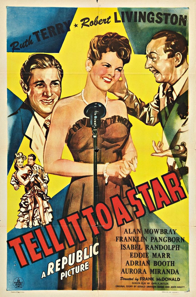 Tell It To A Star Poster