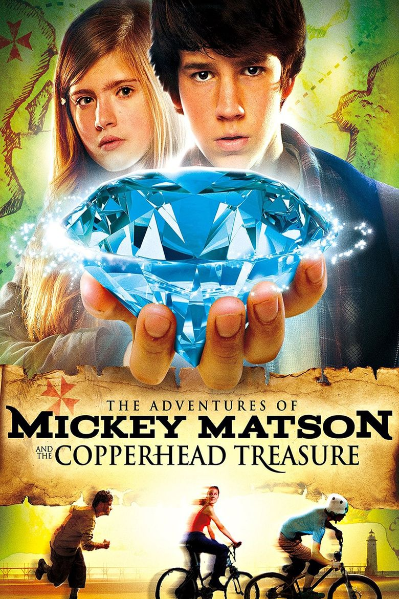 The Adventures of Mickey Matson and the Copperhead Treasure Poster
