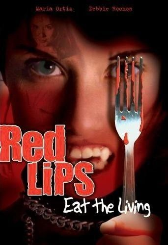 Red Lips: Eat the Living Poster