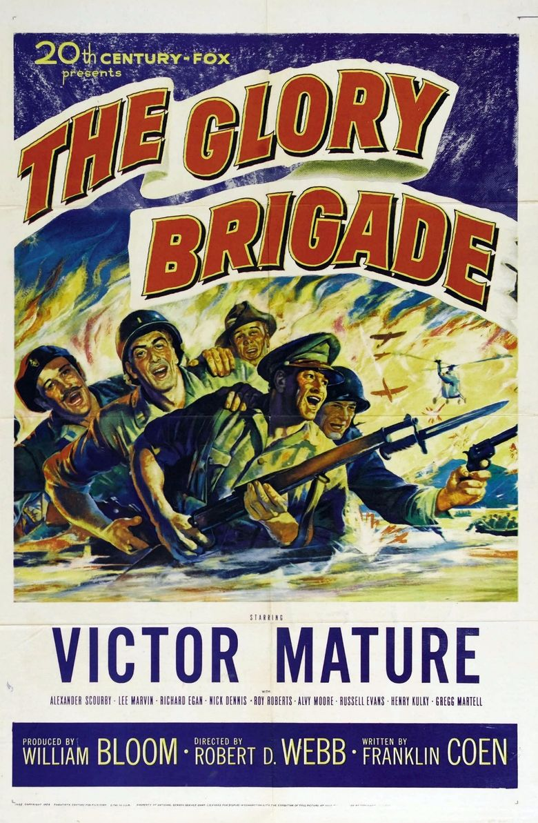 The Glory Brigade Poster