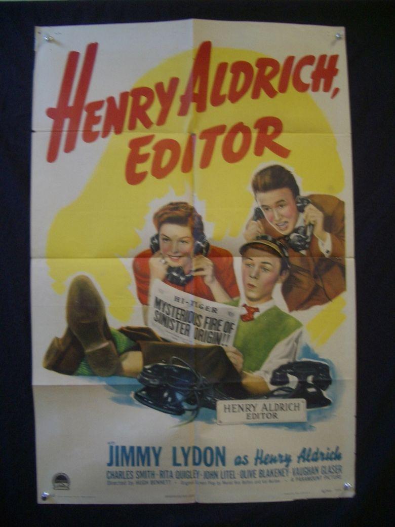 Henry Aldrich, Editor Poster