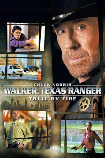 Walker, Texas Ranger Trial by Fire Poster