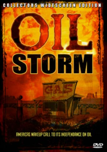 Oil Storm Poster