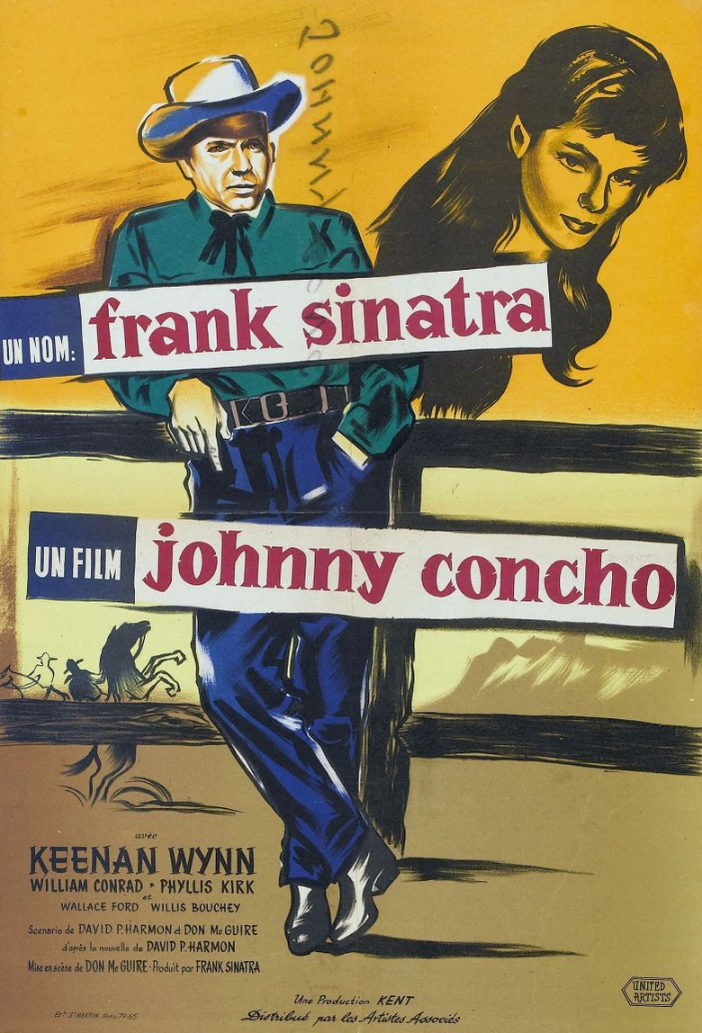 Johnny Concho Poster