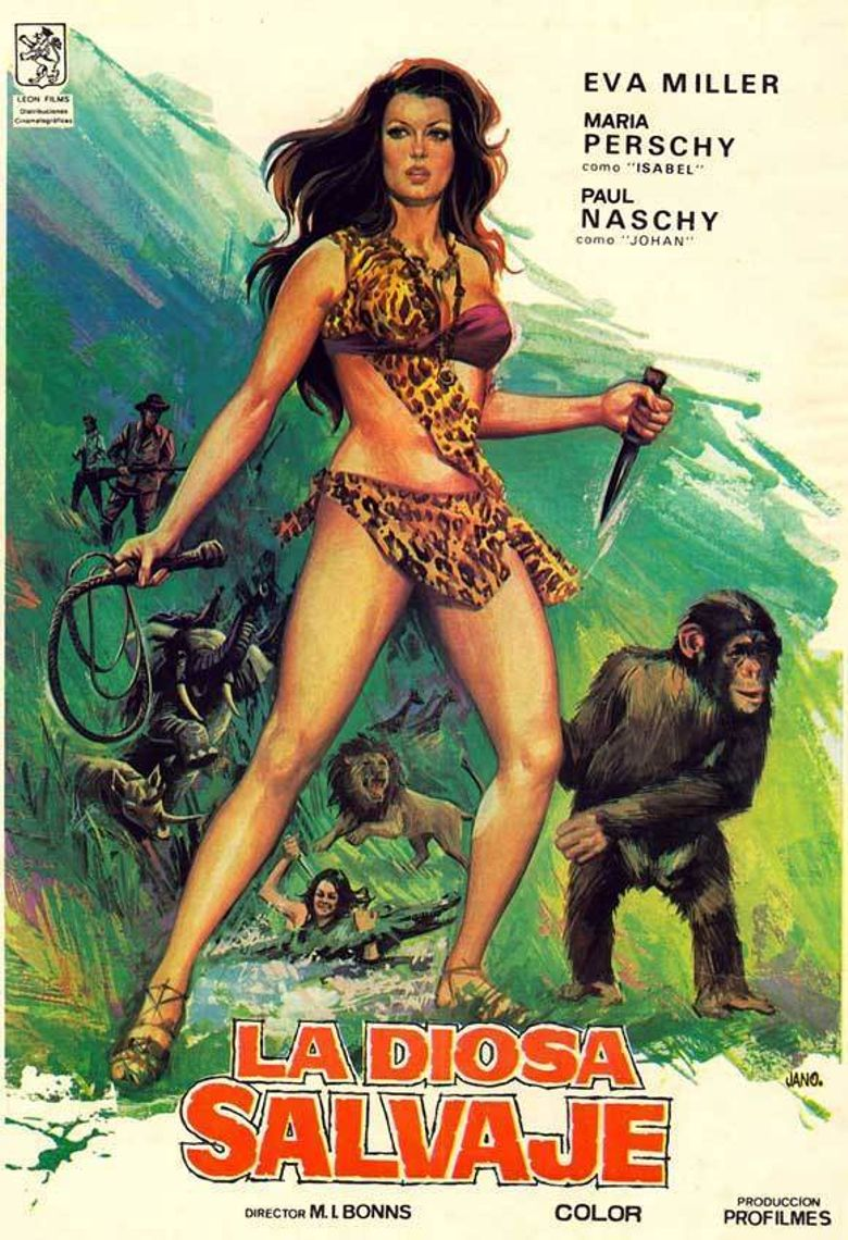 Kilma, Queen of the Jungle Poster