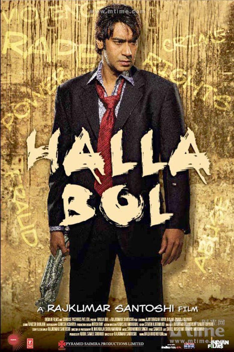 Halla Bol Poster