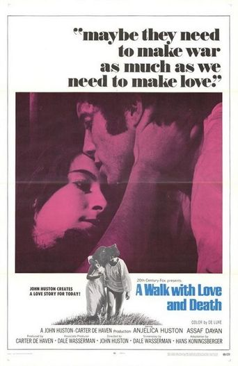 A Walk with Love and Death Poster