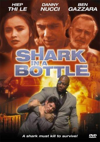 Shark in a Bottle Poster