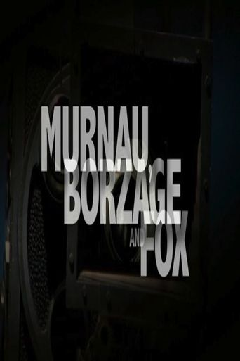 Murnau, Borzage and Fox Poster