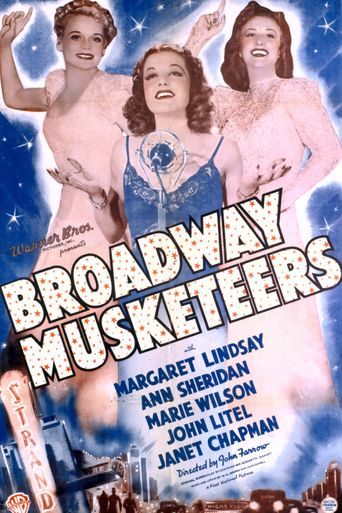 Broadway Musketeers Poster