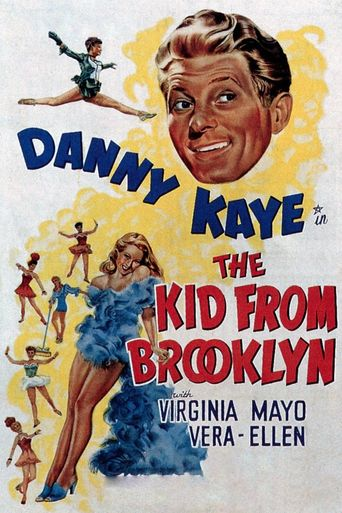 The Kid from Brooklyn Poster