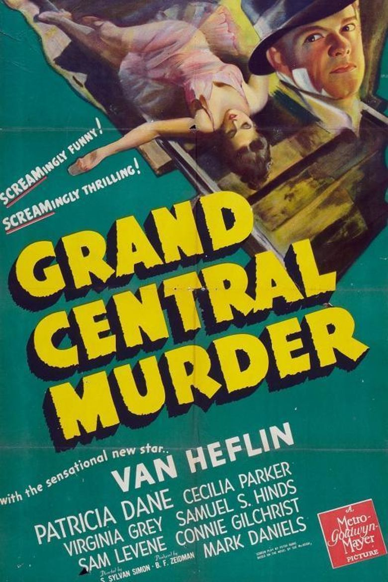 Grand Central Murder Poster