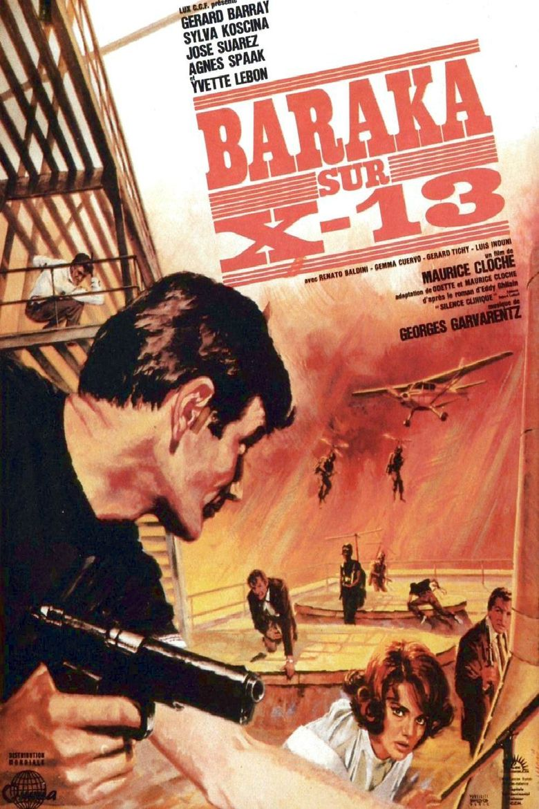 Agent X-77 Orders to Kill Poster