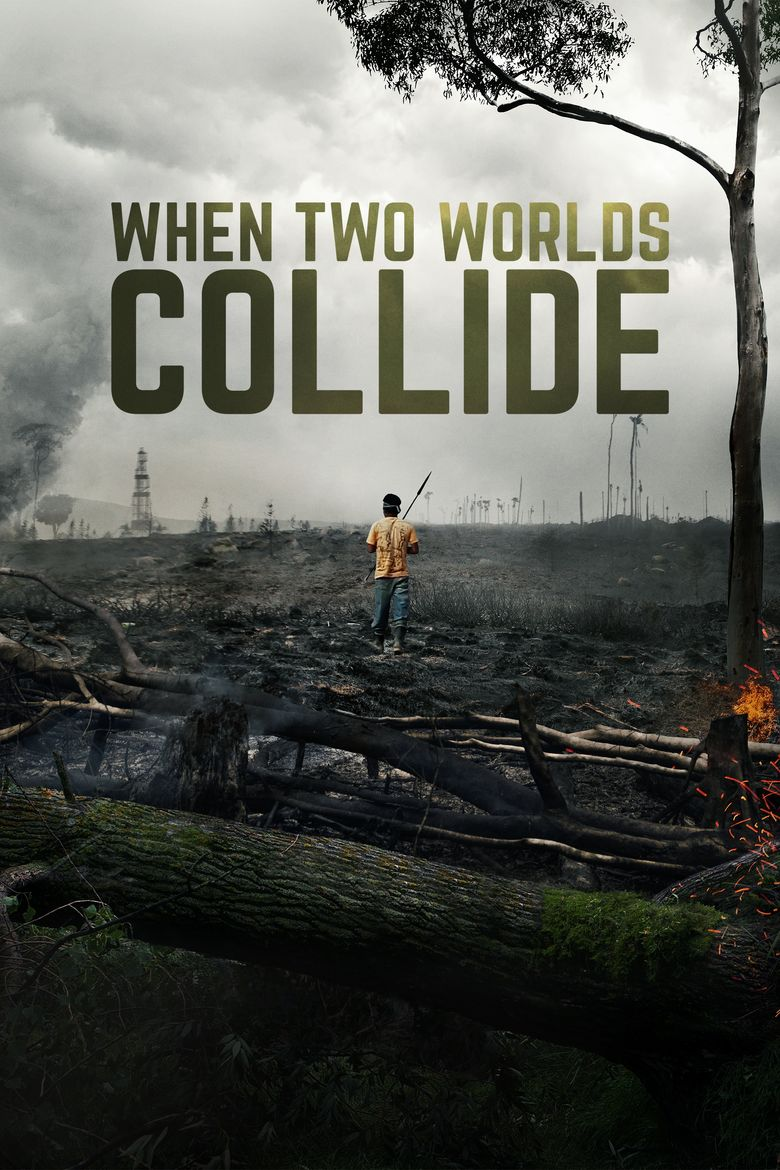 When Two Worlds Collide Poster