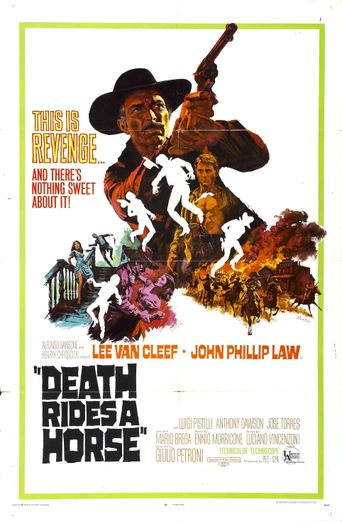 Death Rides a Horse Poster