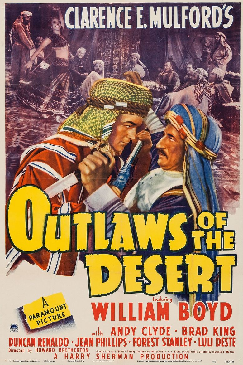 Outlaws of the Desert Poster
