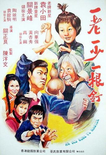 An Old Kung Fu Master Poster