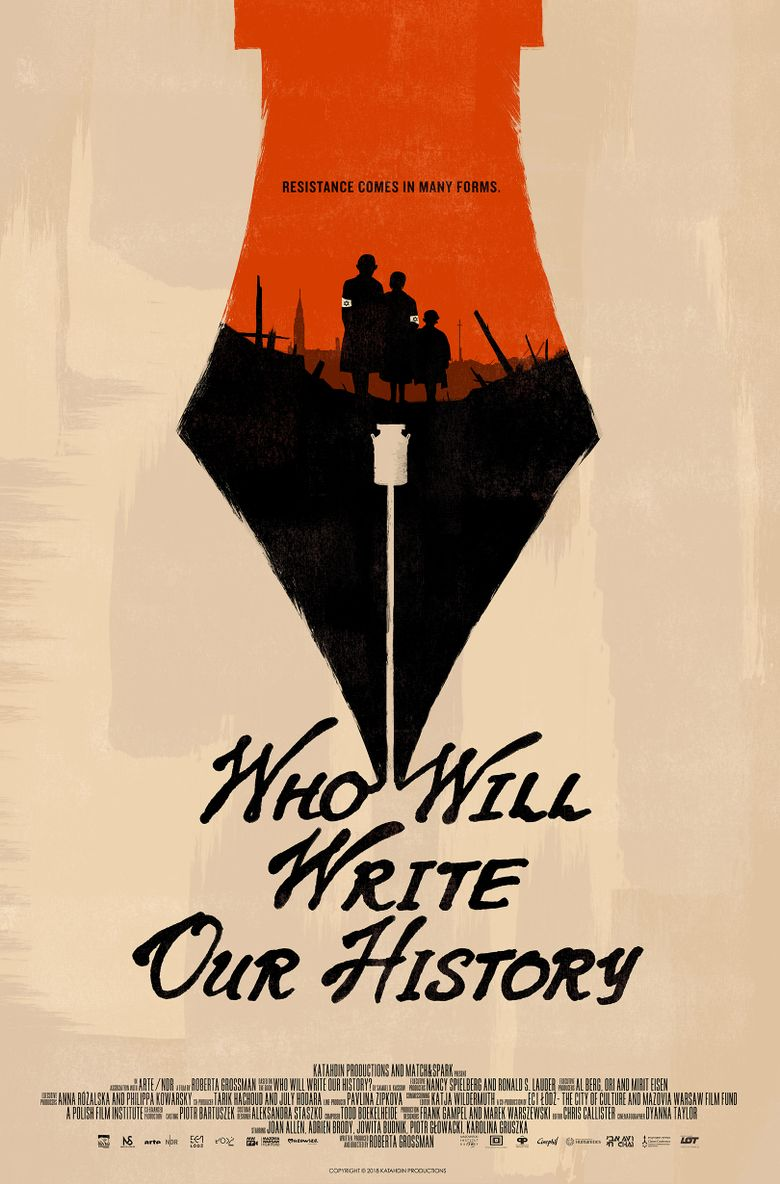 Who Will Write Our History? Poster