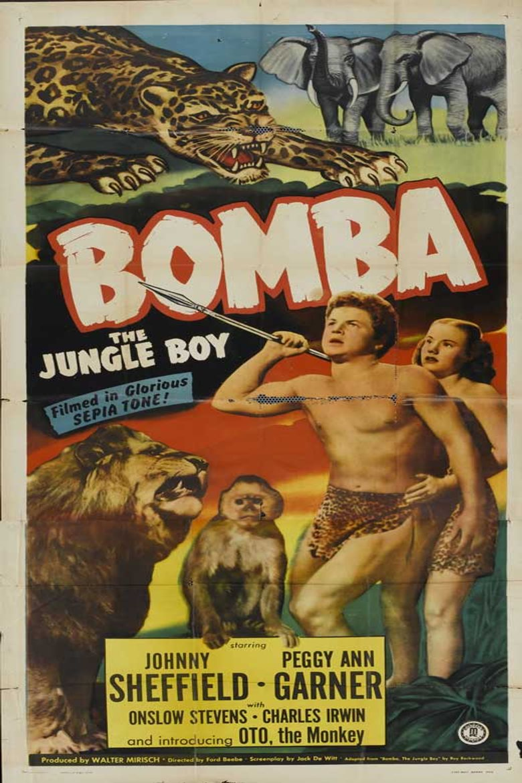 Bomba, the Jungle Boy Poster