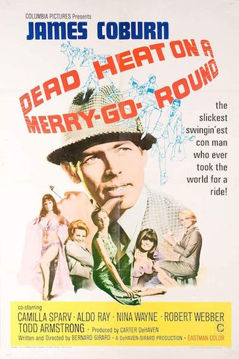 Dead Heat on a Merry-Go-Round Poster