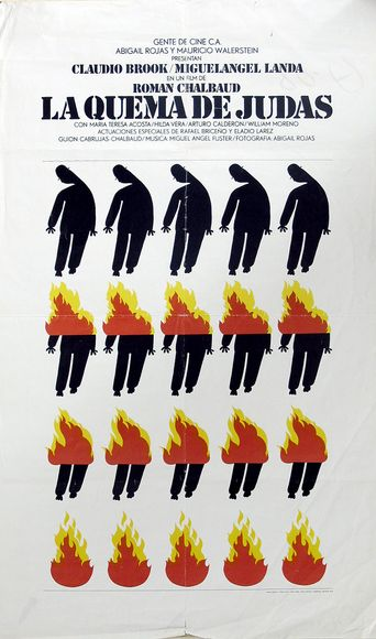 The Burning of Judas Poster