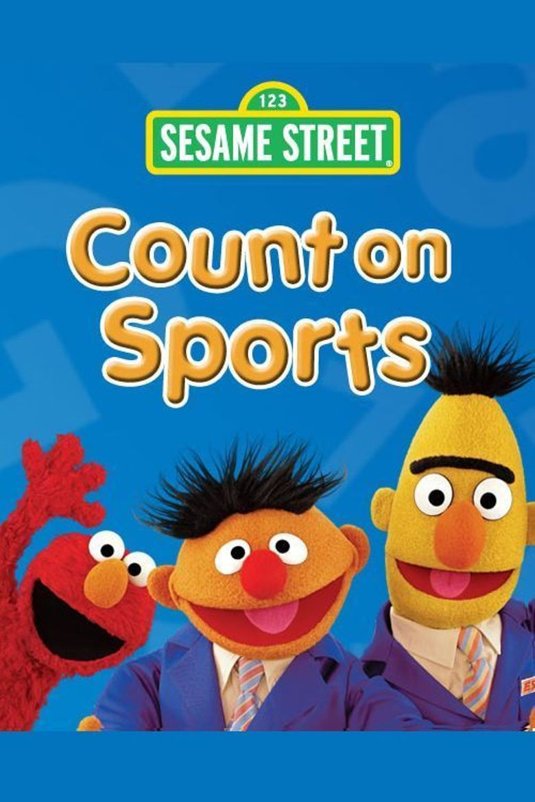 Sesame Street: Count on Sports Poster