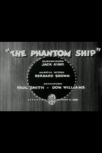 The Phantom Ship Poster