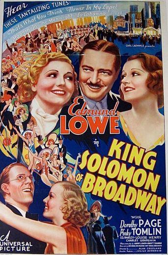 King Solomon of Broadway Poster