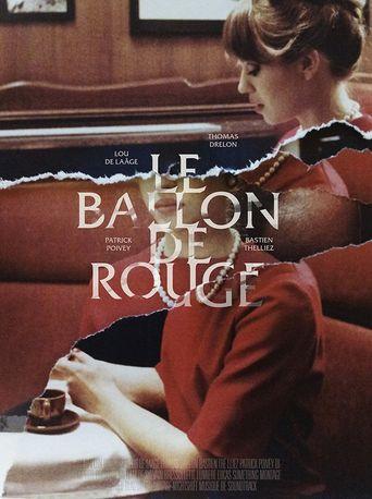 Le ballon de rouge Poster