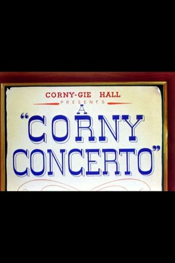 A Corny Concerto Poster